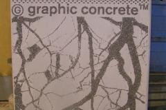 Graafinen betoni mallikivi