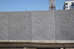 Oulun graafinen betoniseinä