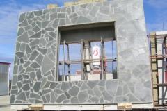 Altan liuskekivi -pintainen seinäelementti