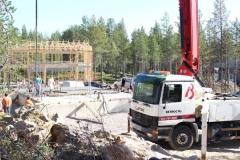 Betonipumppaus Sodankylä